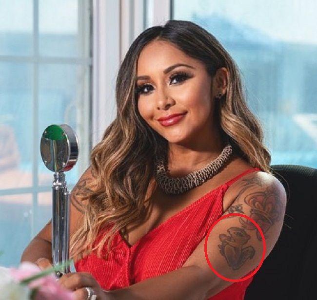 Nicole Polizzi-Squirrel Tattoo