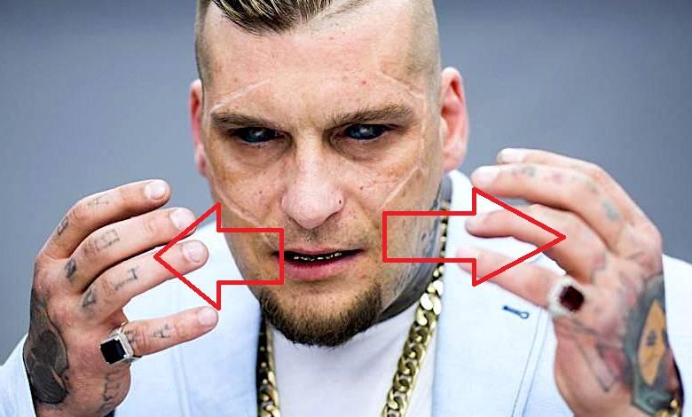 Popek hand tattoos