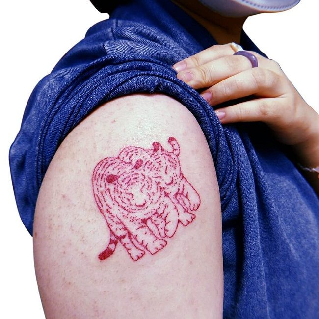 'Tiger Couples' Tattoo