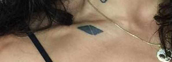Unimerce collarbone tattoo