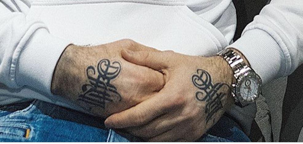 Artur hand tattoos