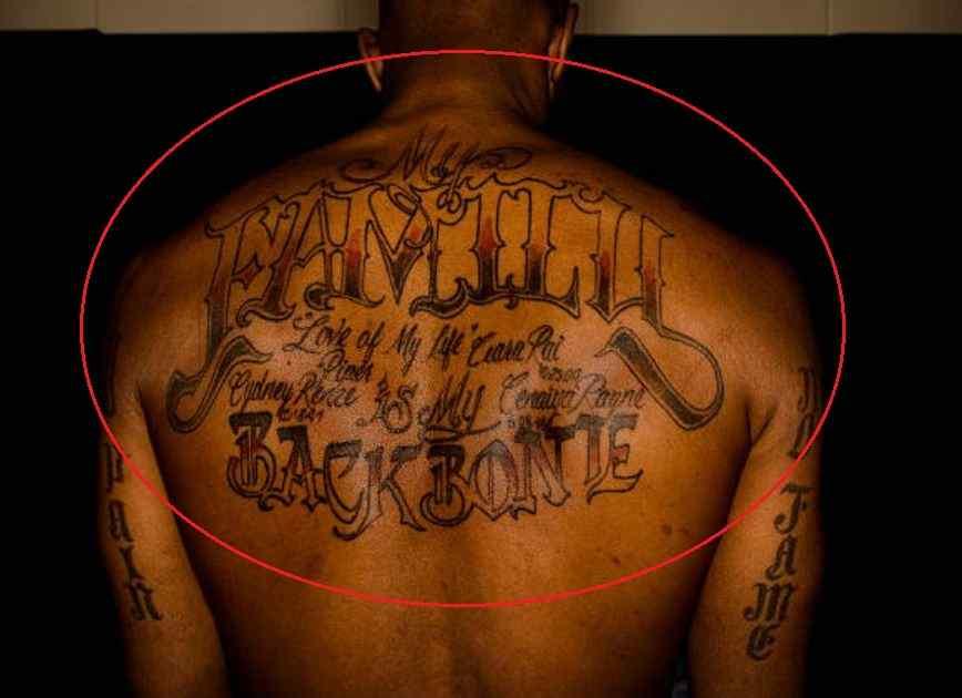 Chauncey Billups family tattoo