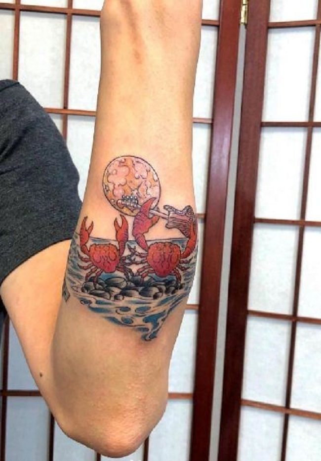 'Couples Crab' Tattoo