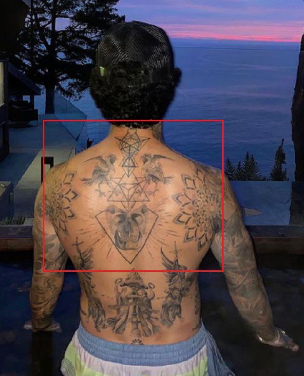 Geometric Design-Tattoo-Nyjah Huston