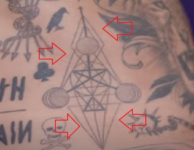 Geometrical Pattern-Tattoo-Nyjah Huston-Tattoo