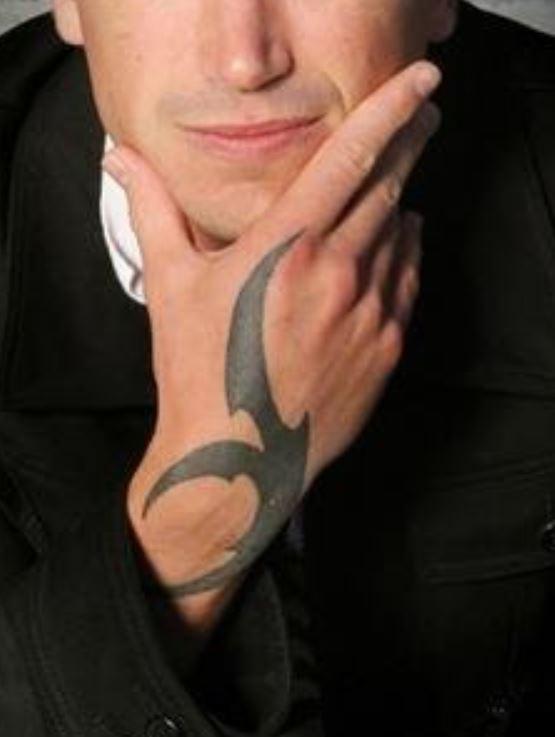 Harry hand tattoo