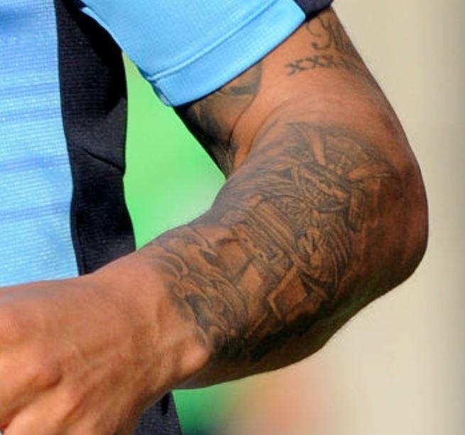Jay left forearm tattoo
