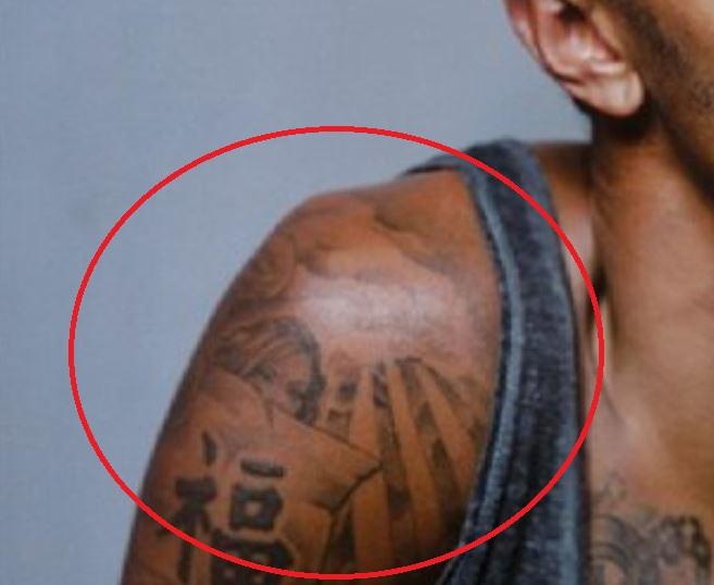 Jay right shouler tattoo