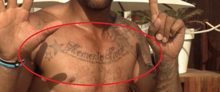 John chest tattoo