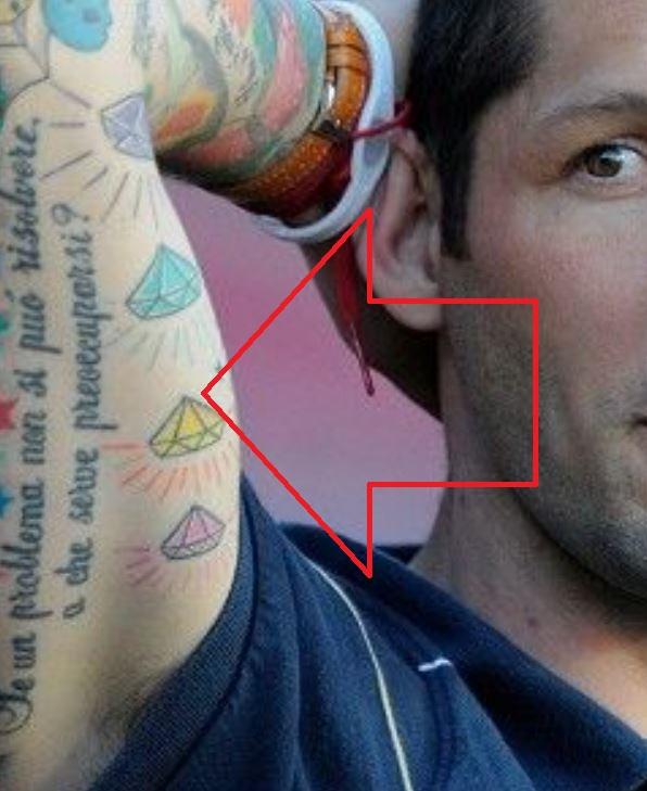 Marco diamonds tattoo
