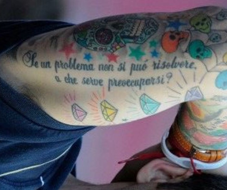 Marco quote on bicep