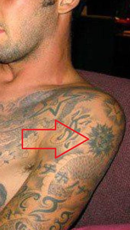 Marco tribal sun tattoo