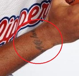 Marcus Camby milan tattoo