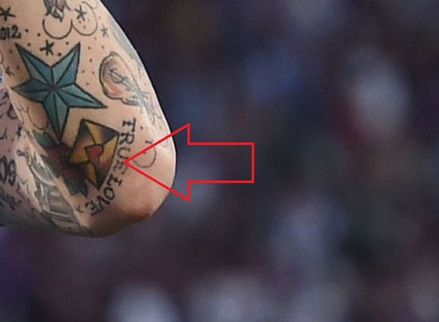Marek TRUE LOVE Tattoo