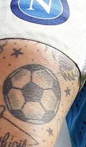 Marek football tattoo