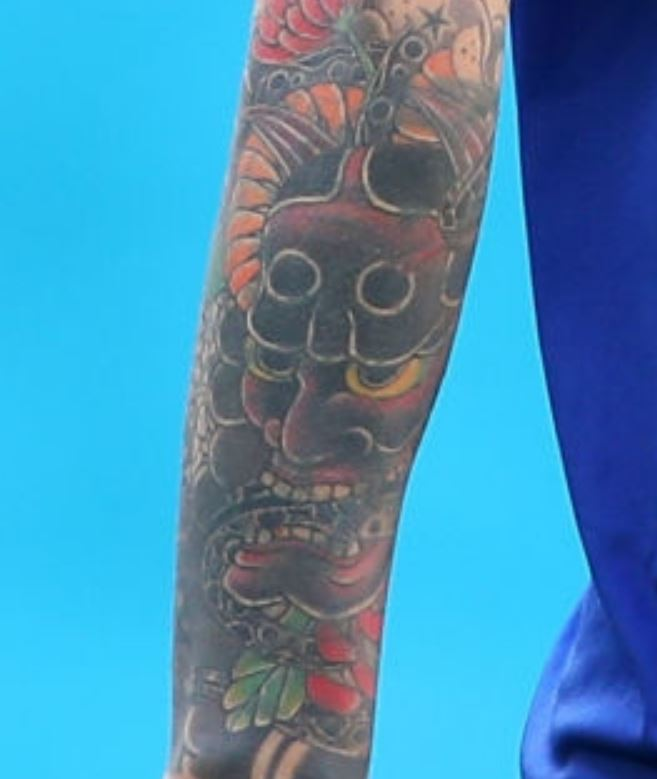 Marek right arm cover up tattoo