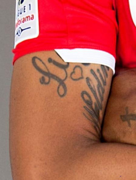 Naldo wife and son name tattoo