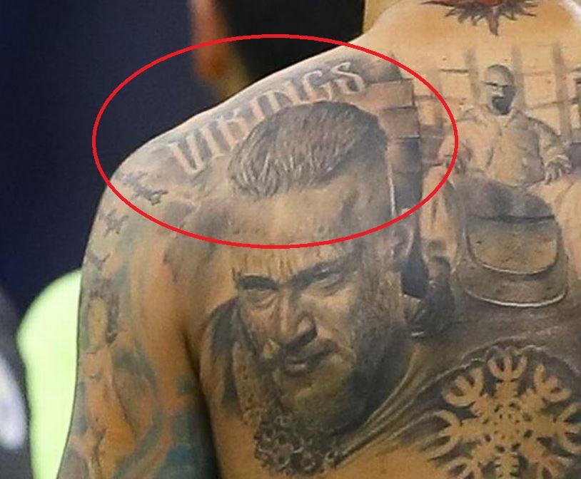 Nicolas vikings tattoo