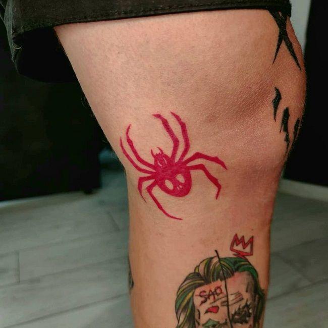 'Red Spider' Tattoo