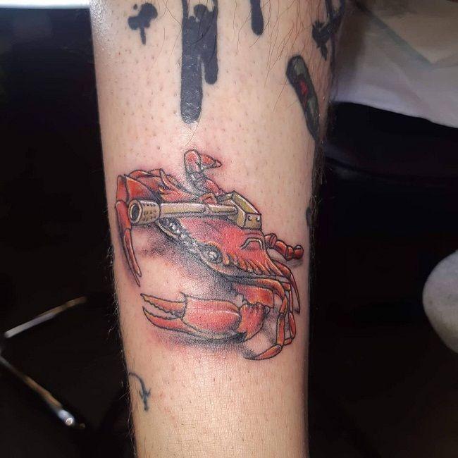 'Tank Crab' Tattoo
