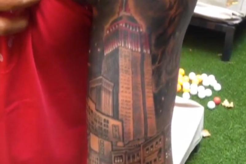 Thierry NY City Tattoo