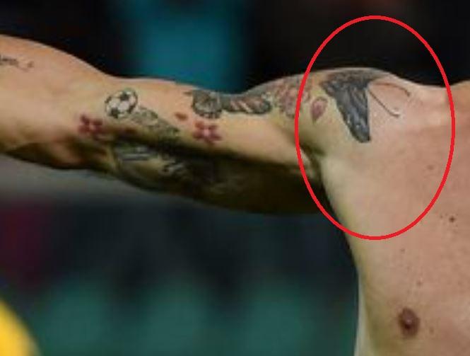 Alberto butterfly tattoos