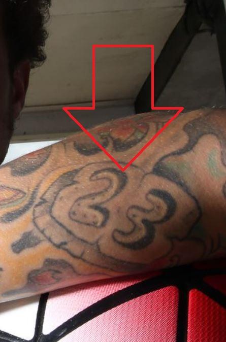 Alessandro 23 tattoo