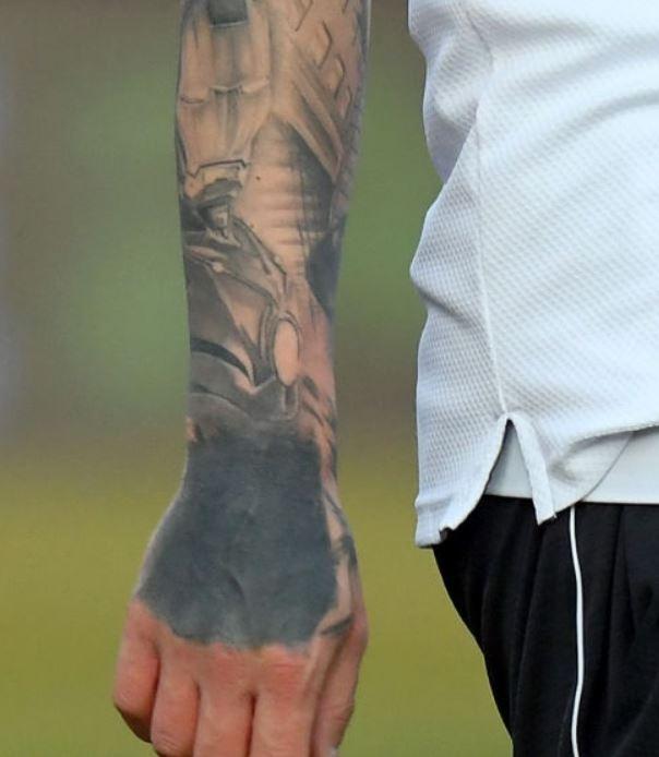 Amato right forearm tattoo