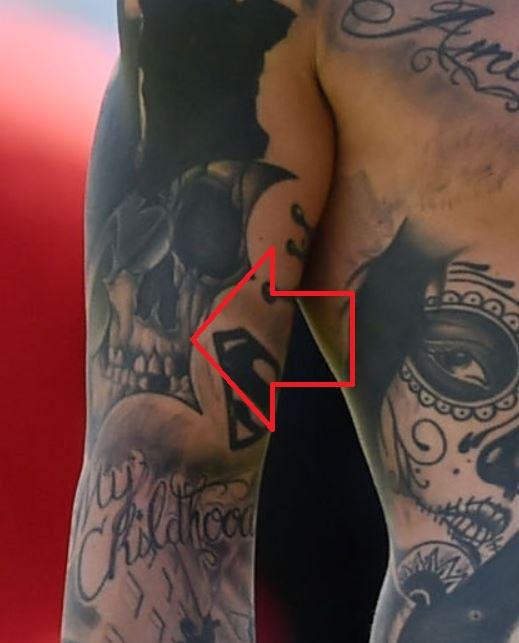 Amato skull tattoo