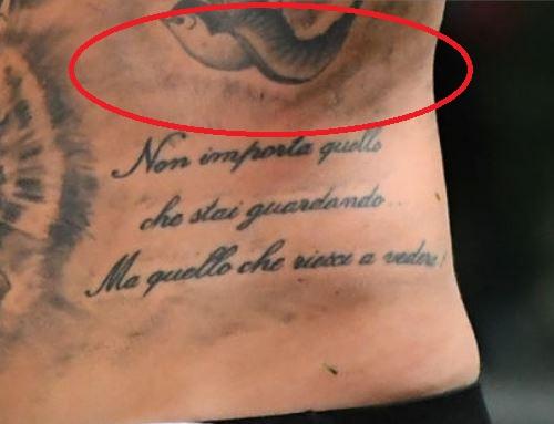 Amato swallow tattoo