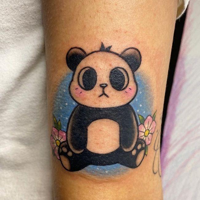 Animated Panda Tattoo