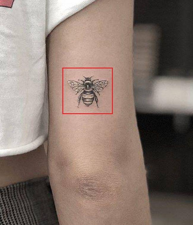 Bee Tattoo-Maya Stepper