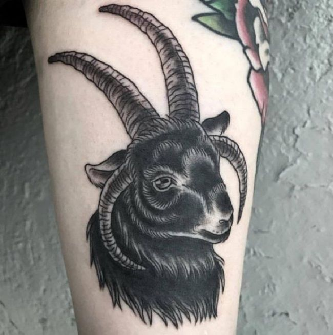 Black Goat Tattoo