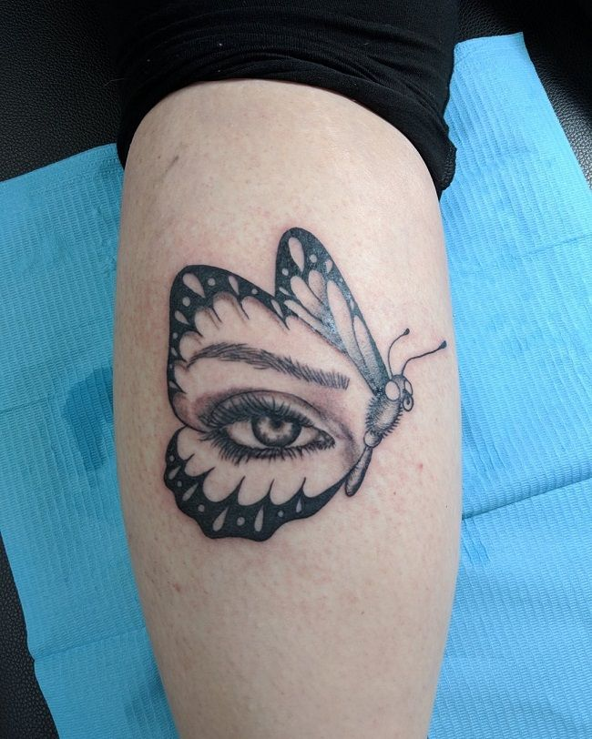 'Butterfly with an Eye' Tattoo