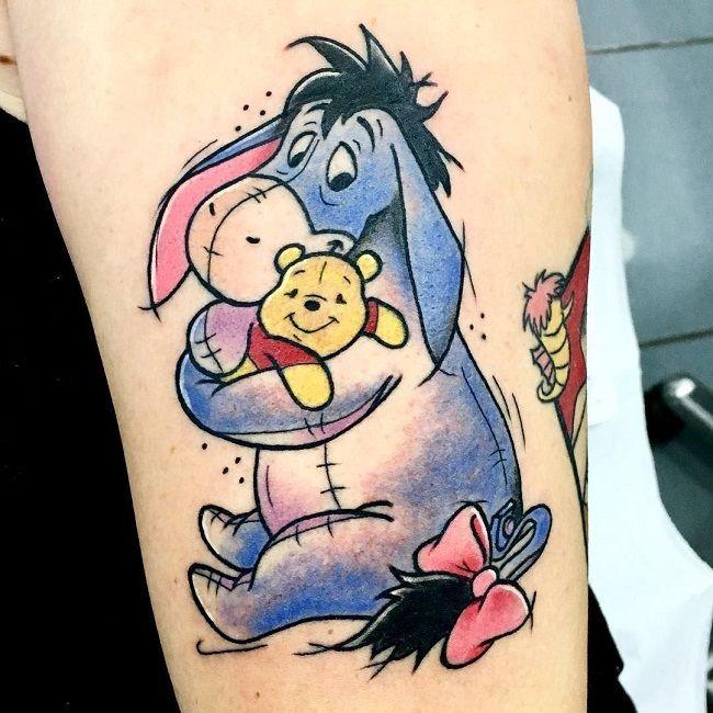 Cartoon Character Donkey Tattoo