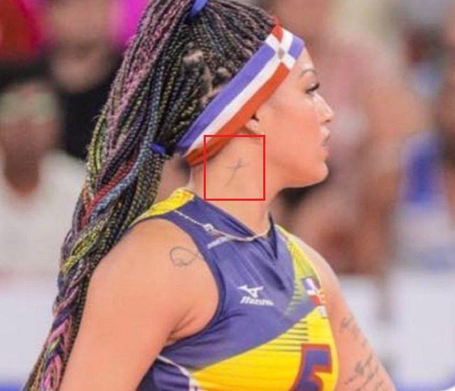Cross Tattoo-Brenda Castillo