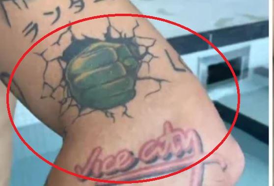 Dele bug tattoo
