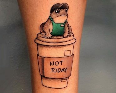 'Frog at your Service' Tattoo