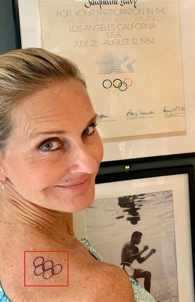 Jacquie Beltrao-Olympic Rings