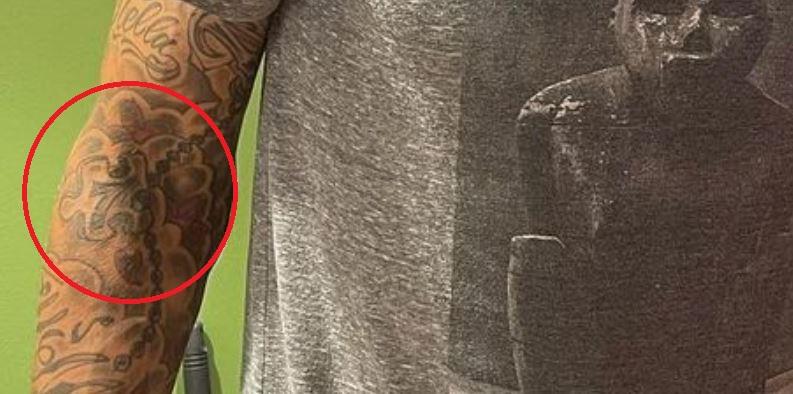 Jay puzzle piece tattoo