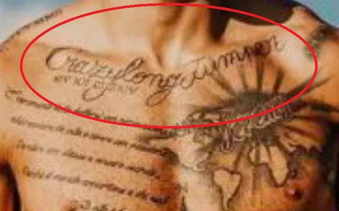 Marcell crazy long jumper tattoo