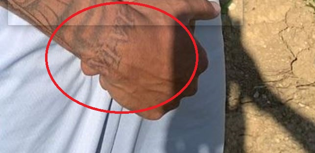 Marcell roman number on wrist tattoo