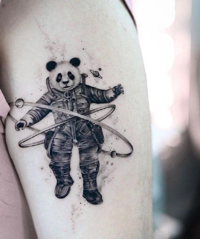 Orbit Panda Tattoo
