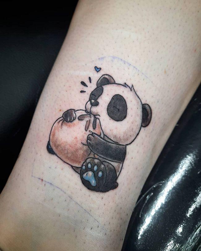 'Panda eating a Dumpling' TAttoo