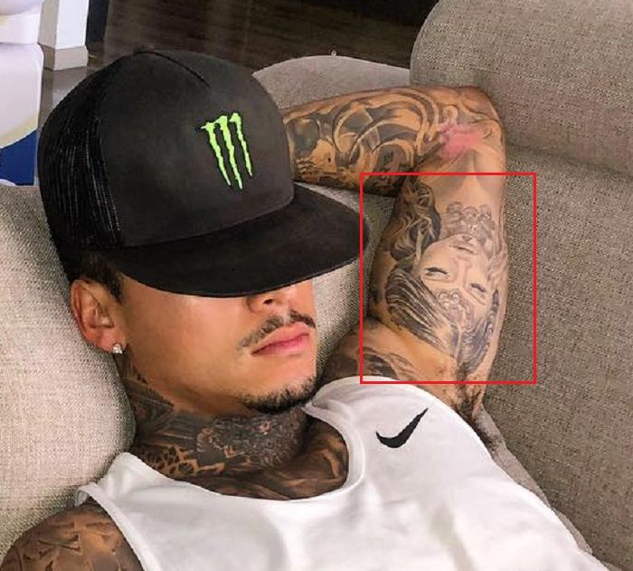 Portrait Tattoo Nyjah HUston