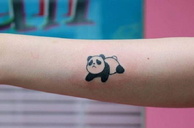 Sad Panda Tattoo