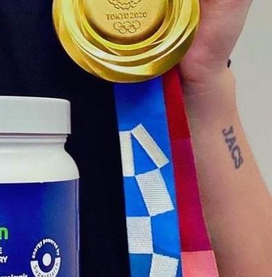 Stefanie initials tattoo