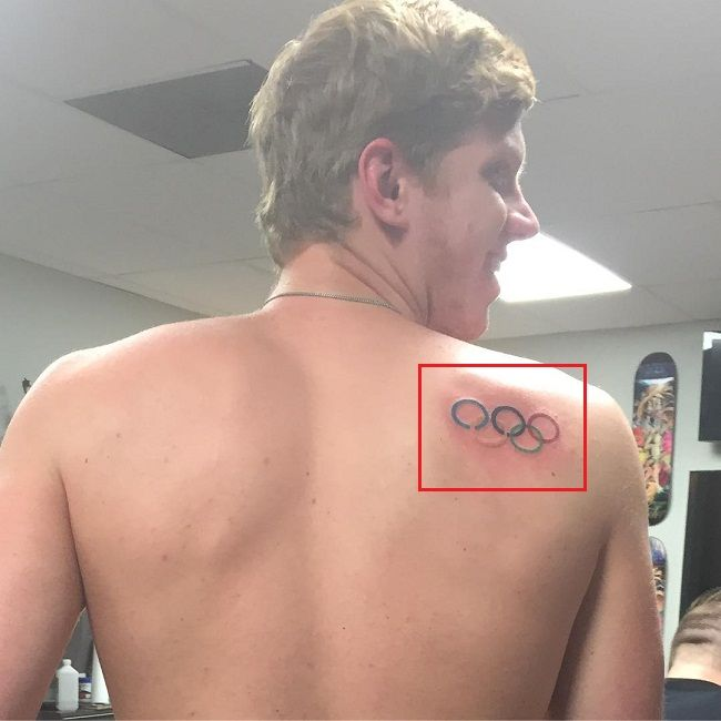 Townley Haas-Olympic Rings-Tattoo