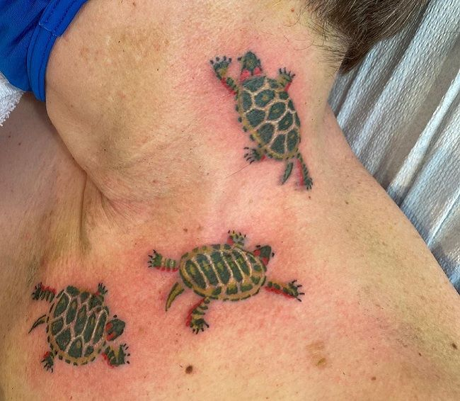 Trio Turtle Tattoo