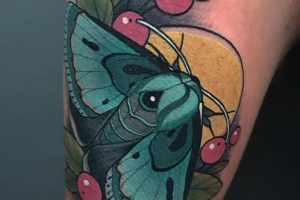 1 Gypsy moth tattoo meaning